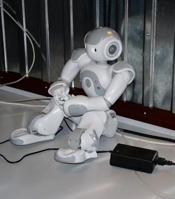 Müder Roboter