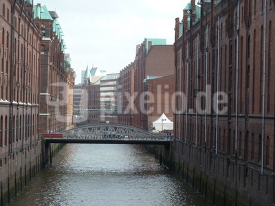 Blick von Kehrwieder Brücke