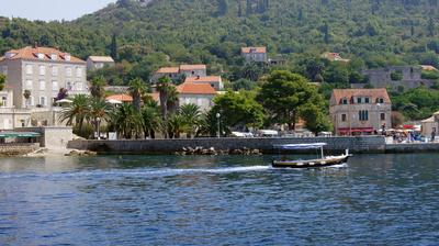 Blick auf Lopud (Insel Lopud) Kroatien