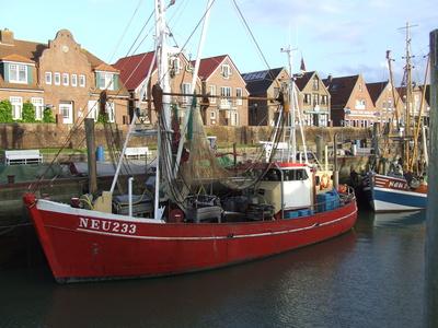 Hafen Neuharlingersiel (Nordsee)