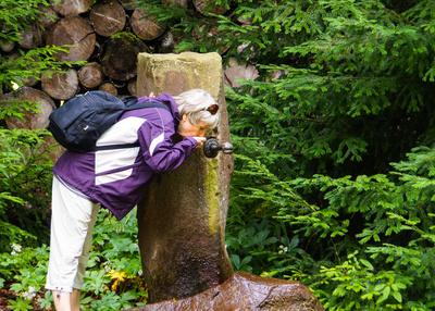 frisches Brunnenwasser