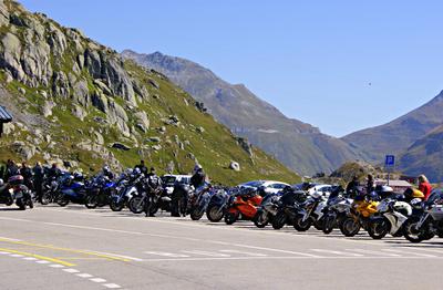 Beliebte Motorradroute