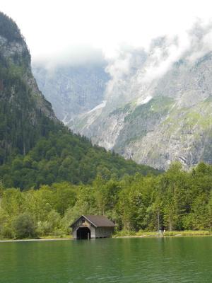 Bootstour über den Königssee zum Obersee in Bayern