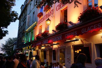 Paris - Dämmerstunde am Montmartre