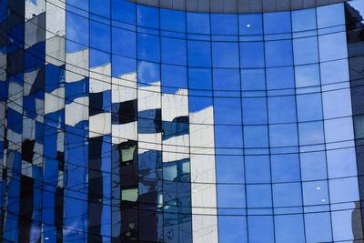 effektvolle Glasfassade