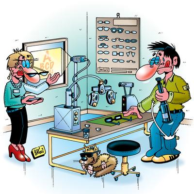 Berufsbilder: Augenoptiker