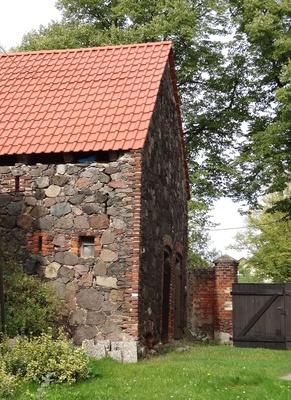 Altes Backsteinhaus