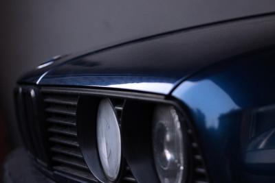 eyes of a beautiful car