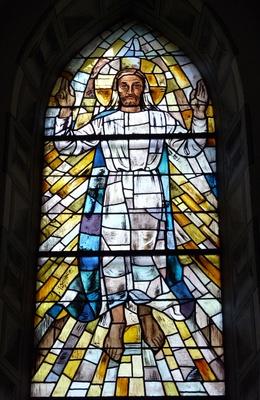 Himmelfahrt (Fensterbild)