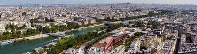 Paris-Panorama Richtung Montmartre