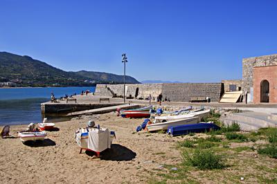 Der Strand von Cefalù