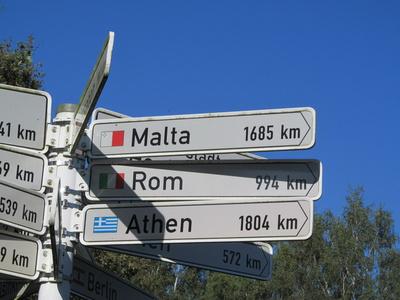 Malta 1685 km
