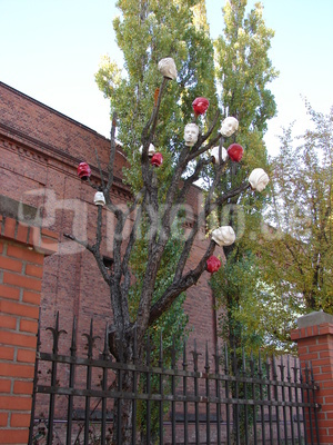 der geschmückte Baum