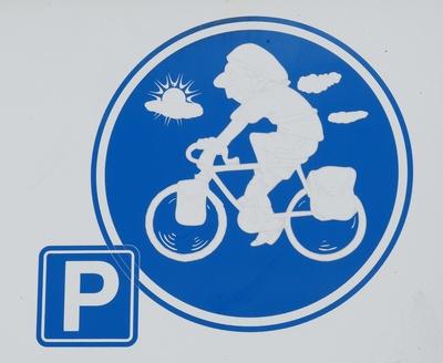 Radler-Parkplatz