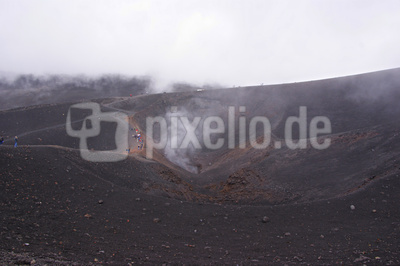 Vulkan mit Dauertätigkeit
