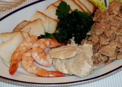 Feine Fischplatte