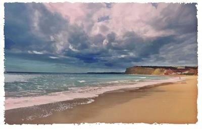 Strandleben im Spätsommer