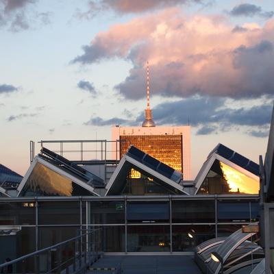 Auf den Dächern Berlins