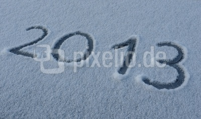 2013 im Schnee