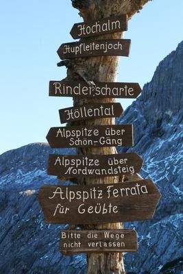Ein Berg - viele Möglichkeiten