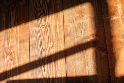 Alter Holzdielen-Boden