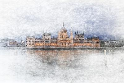 Eine Stadt an der Donau