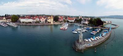 Lindau (Blick vom Leuchtturm)