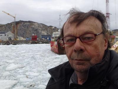 Jerzy in Ilulissat ( Grönland )