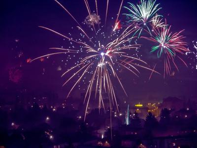 Silvesterfeuerwerk Graz