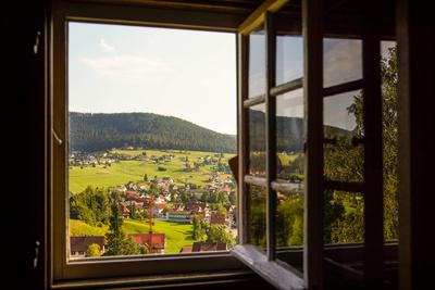 Ausblick auf Baiersbronn-Mitteltal