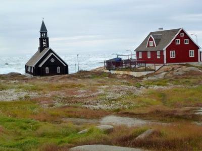 Kirche in Ilulissat  ( Grönland )