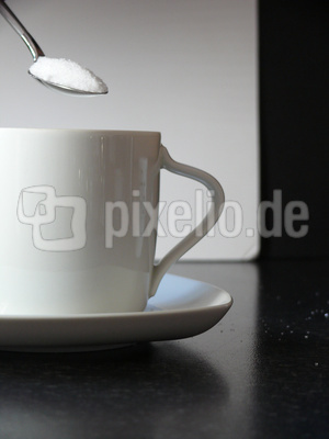 Zucker im Kaffee ....