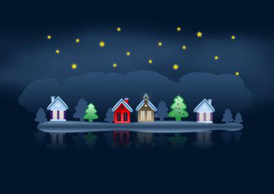 Weihnachten_Blau