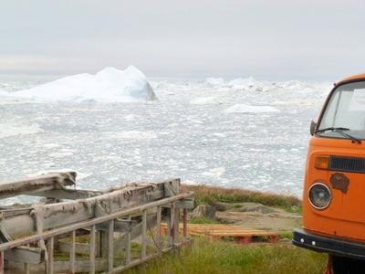 Alter VW Bus in Ilulissat ( Grönland )