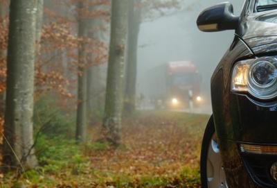 Vorsicht Herbstnebel