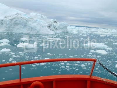 Eisberge vor Ilulissat  ( Grönland )