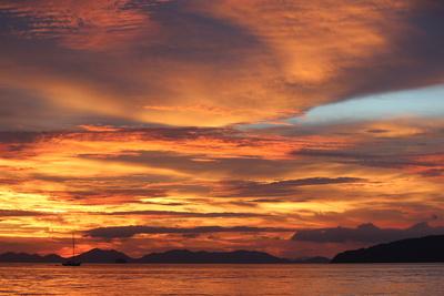 Sonnenuntergang bei Ao Nang