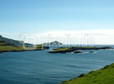 Küstenlandschaft in Irland