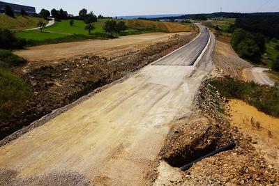 Straßenbau - Asphaltieren