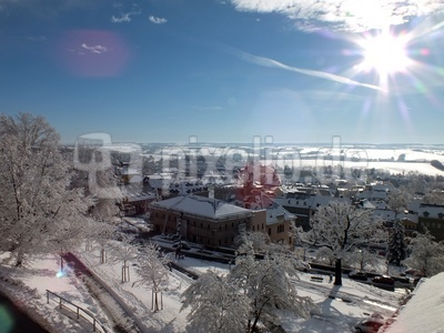 Hohenstein-Ernstthal im Winter