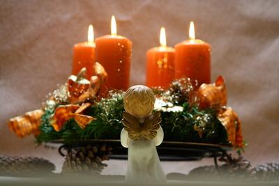 Advent, Advent ein Kerzlein brennt
