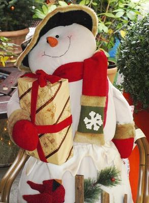 Der Weihnachts.Schneemann