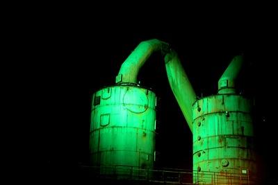 Grüne Tanks
