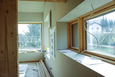 Baustelle - Innenausbau Passivhaus Niesner