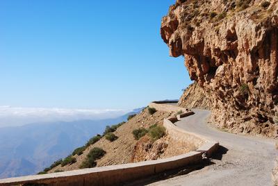 Marokko - Atlasgebirge - Weg ins Nirgendwo