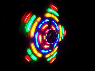 LED Flower Experiment Kamera Kodak easyshare cx 7525