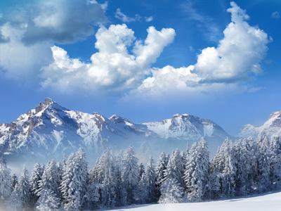 Walliser Wintermärchen