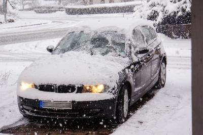 Blindlings im Schneetreiben
