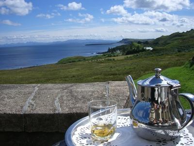 Teatime in Scotland