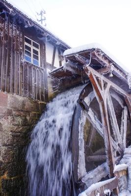 Mönchshofsägemühle in Waldachtal im Winter_hoch